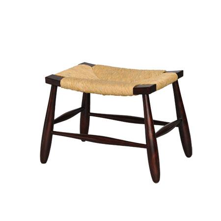 手作り ハンドメイド の家具 お得セット 松本民芸家具 国産のミズメザクラとフトイ イグサ #518型スツール を使用した使うほどに味のでるスツールです 最新号掲載アイテム