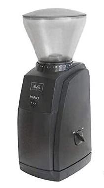精度の高いコニカル形式のミル刃で 挽きムラのない品質の豆を提供します 全品最安値に挑戦 40段階の挽き目調節 送料無料 500gコーヒー豆付き コーヒーミル メリタ バリオ 備考欄に記入してください 000円の送料がかかります 超激得SALE エスプレッソ用豆に変更することができます ただし沖縄県は1 コーヒーグラインダー CG-124 VARIO-E