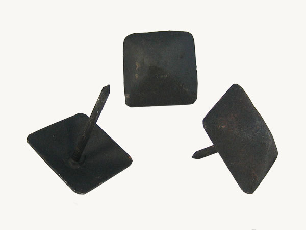 Antique Decorative Tacks Square Iron Nails And Square And 35 Mm (black) *  Are