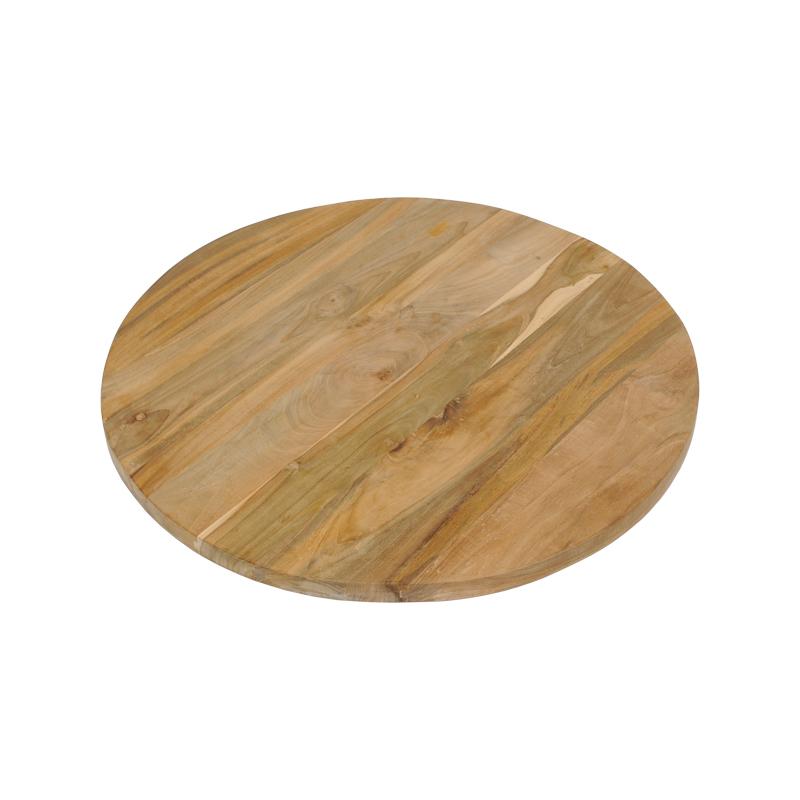 Exceptionnel リクレイムド Teak Table Top Round 600mm In Diameter U203bInapplicable