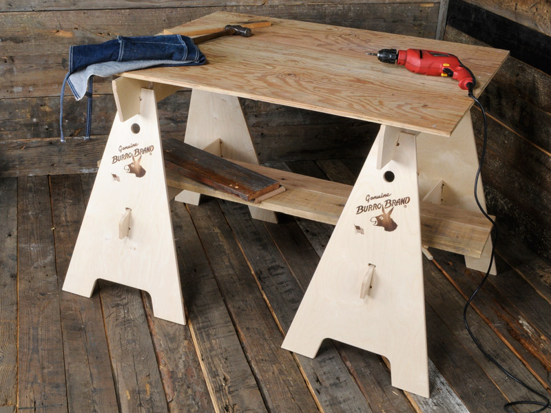 Burro Brand Sawhorses Part - 17: Barrow brand KD-BARROW GALLUP is Japan total agency regular store in the BURRO  BRAND. * Additional shipping * 2 leg set * Assembly type