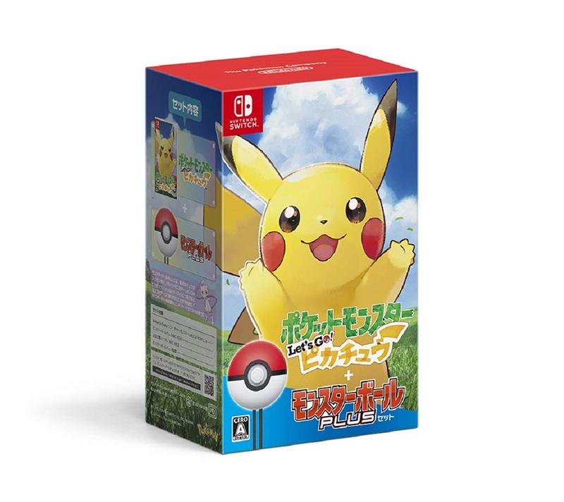 【新品】Switch ポケットモンスター Let's Go! ピカチュウ モンスターボール Plusセット【宅配便】