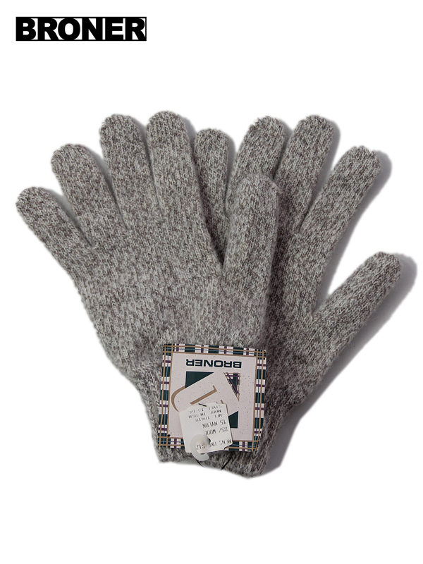 BROWN CAMOUFLAGE  FLEECE GLOVES  MADE IN THE U.S.A  BRONER GLOVE COMPANY