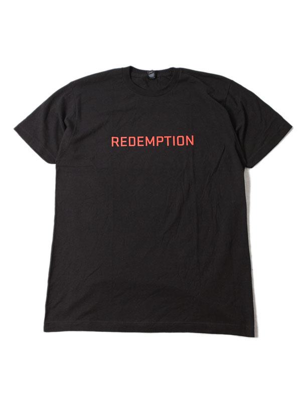 US買い付け HIPHOP ミュージック Tシャツ トップス メンズ インポート JAY ROCK 優先配送 THE BIG ジェイロック リデンプション ビッグ ザ 半袖シャツ TEE ブラック 爆売り S REDEMPTION black TOUR