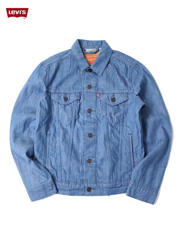 【US買い付け正規品】Levi's リーバイス LEVIS デニムジャケット Gジャン ライトオンス ライトブルー DENIM TRUCKER JACKET lt blue