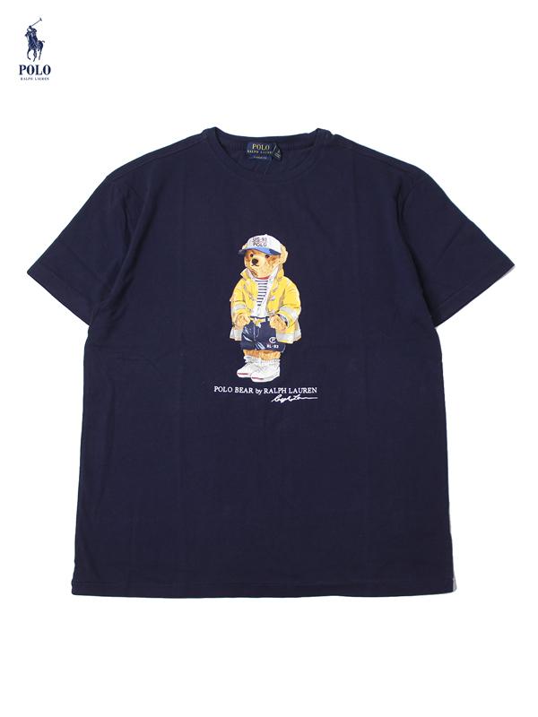 【US買い付け正規品】POLO Ralph Lauren ポロ ラルフローレン ベアー Tシャツ ネイビー CP-93 BEAR S/S TEE navy