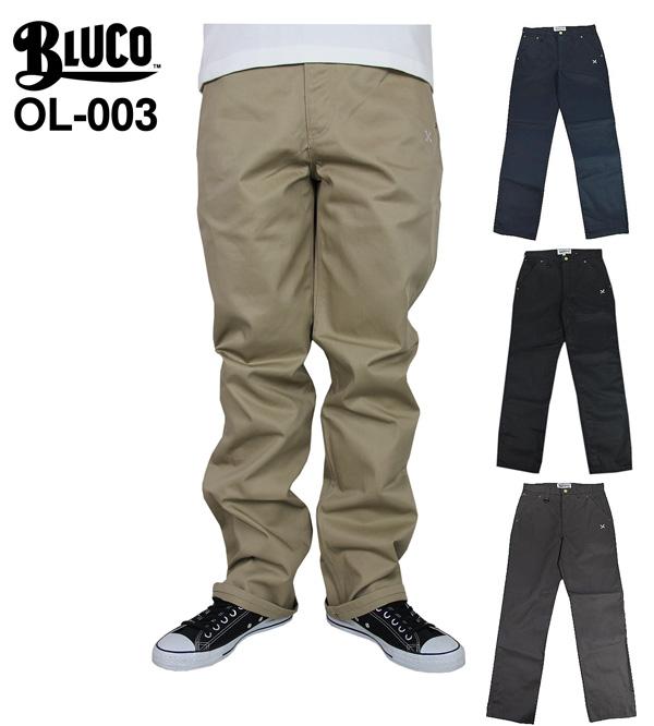 【あす楽対応】BLUCO work garment(ブルコ ワークガーメント) / OL-003 5POCKET WORK PANTS bk/nvy/be/gry(5ポケット ワークパンツ)