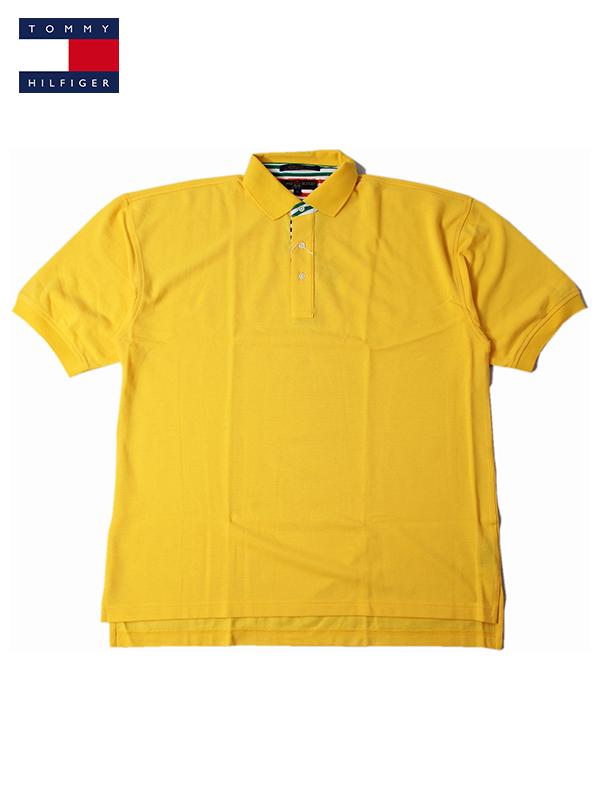 正規品スーパーSALE×店内全品キャンペーン ビンテージ インポート トップス 希望者のみラッピング無料 メンズ US買い付け正規品 TOMMY HILFIGER トミーフィルフィガーゴルフ ポロシャツ SHIRTS yellow GOLF イエロー POLO