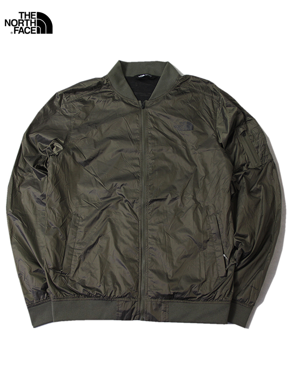 【USモデル正規品】THE NORTH FACE ザ ノースフェイス ナイロン MA-1 ジャケット オリーブ MEAFORD 2 MA-1 BOMBER JACKET olive