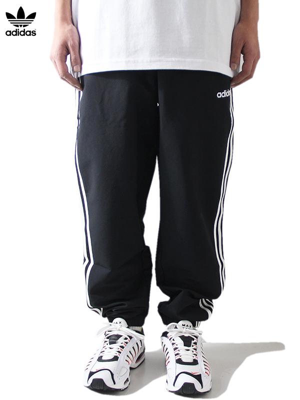 【USモデル】adidas originals アディダス オリジナルス トレーニングパンツ ジャージ ブラック E3S WIND TRACK PANTS black/white DQ3100