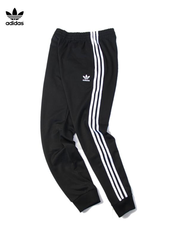 【USモデル】adidas originals アディダス オリジナルス スーパースター トレーニングパンツ ジャージ SUPERSTAR TRAINING PANTS black CW1275