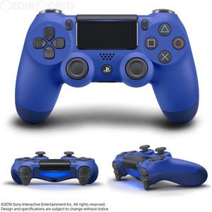 【即日出荷】PS4 ワイヤレスコントローラー DUALSHOCK4 ウェイブ・ブルー 900133【ネコポス不可:宅配便のみ対応】