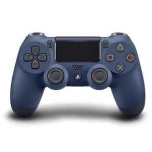 【即日出荷】PS4 ワイヤレスコントローラー DUALSHOCK 4 ミッドナイト・ブルー 900138【ネコポス不可:宅配便のみ対応】