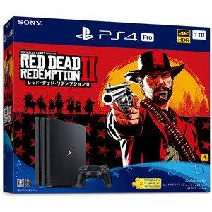 【即日出荷】PlayStation 4 Pro 本体 レッド・デッド・リデンプション2 パック 限定版 140951【ネコポス不可:宅配便のみ対応】
