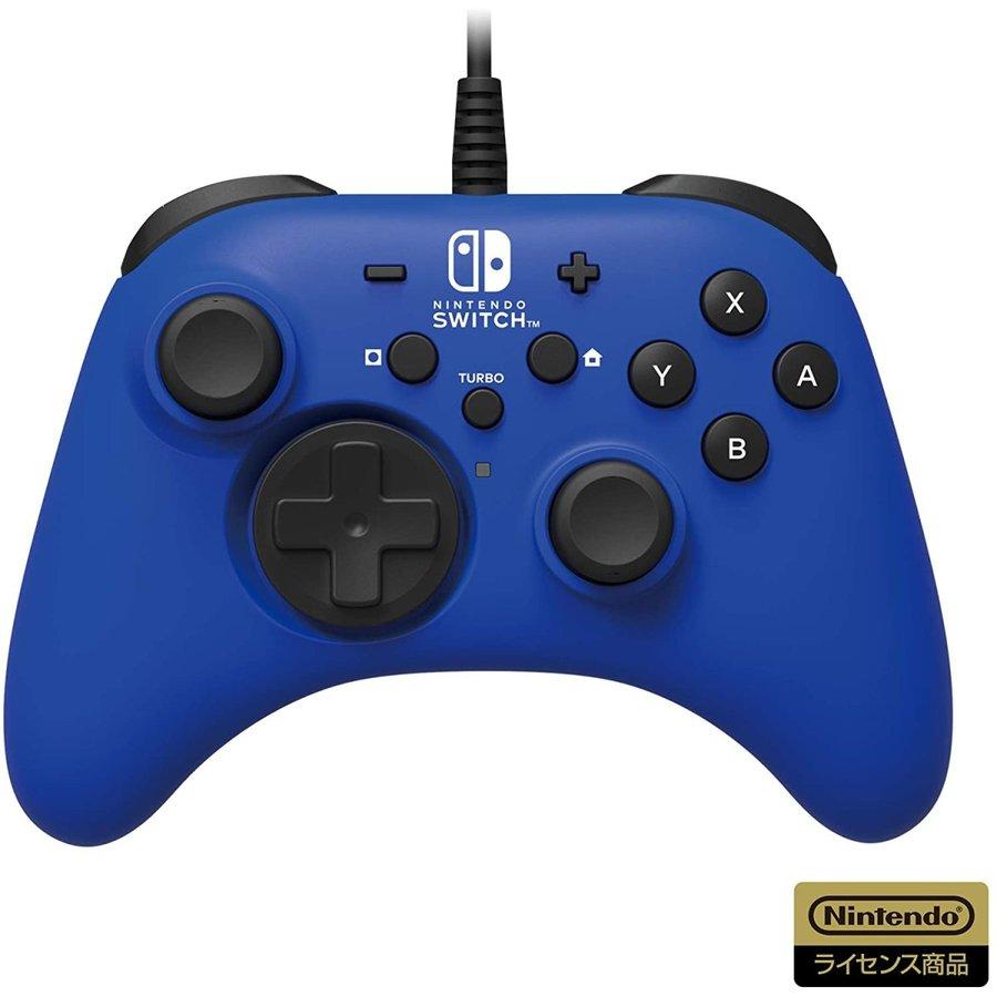 即日出荷 全国配送料無料 送料無料 最新 HORI ホリパッド for ブルー Switch Nintendo 500181 任天堂ライセンス商品 人気ショップが最安値挑戦