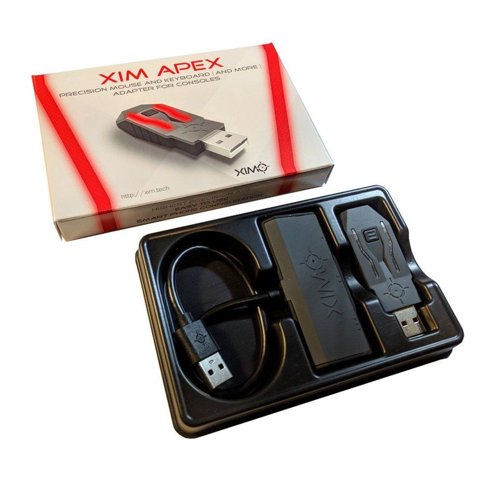 【新品】XIM APEX 【画期的かんたん設定】お持ちの家庭用ゲーム機をゲーミング仕様に!
