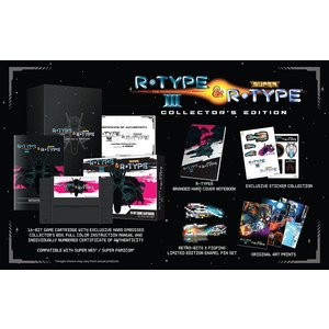 新品 Retro-bit R・TYPE 3 SUPER R TYPE US版【SNES/スーパーファミコン】