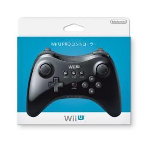 新品 【Wii U】PROコントローラ【クロ】★任天堂純正品