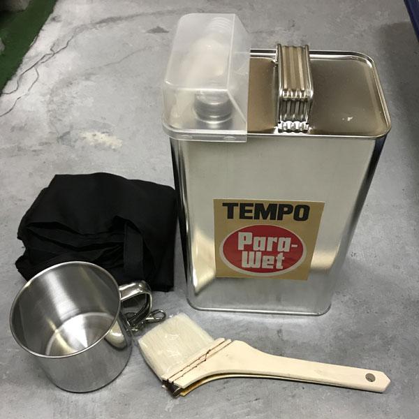 TEMPO 強力防水液 Para Wet(パラウェット) 3.5リットル 4点セット
