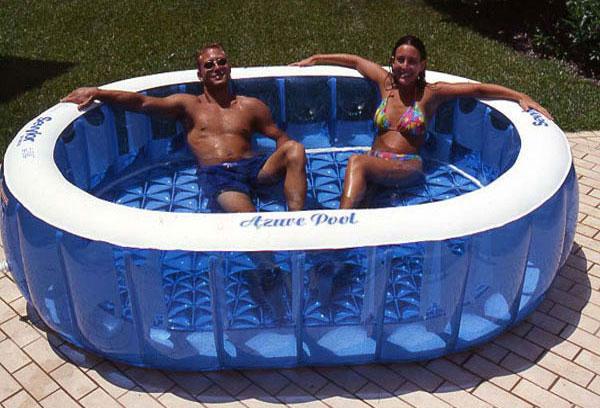 sediac オーバルプール 電動ポンプ付き家庭用ジャンボファミリープール