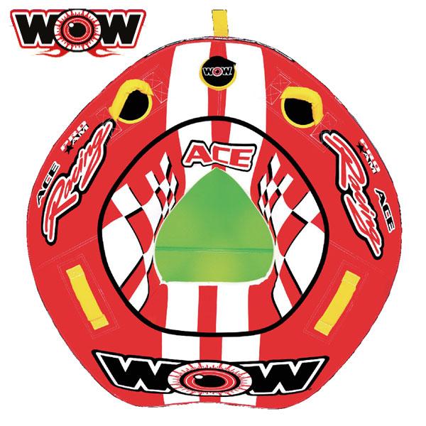 WOW(ワオ) エースレーシング 1P 1人乗りトーイングチューブ