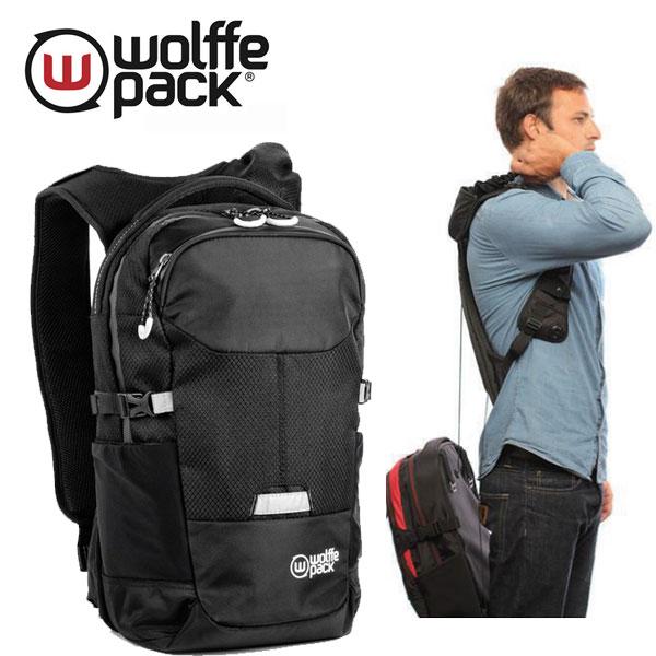 斬新で画期的!wolffe pack(ウルフパック) バックパック サミット 16L + 2L