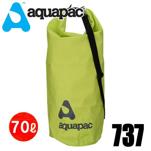 aquapac アクアパック 737完全防水ケース TrailProofTM ショルダーストラップ付きドライバッグ - 70L