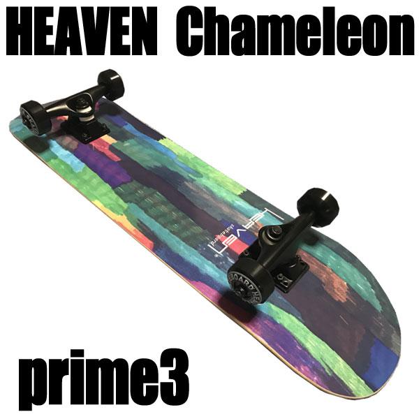 ヘブン ハイスペック コンプリート スケートボード カメレオン3 31×7.625 選び抜かれた高品質のスケボー
