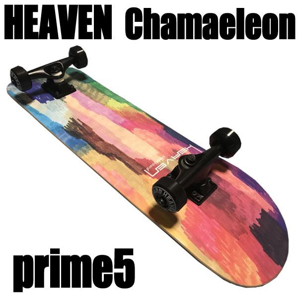 ヘブン ハイスペック コンプリート スケートボード カメレオン5 31×7.625 選び抜かれた高品質のスケボー