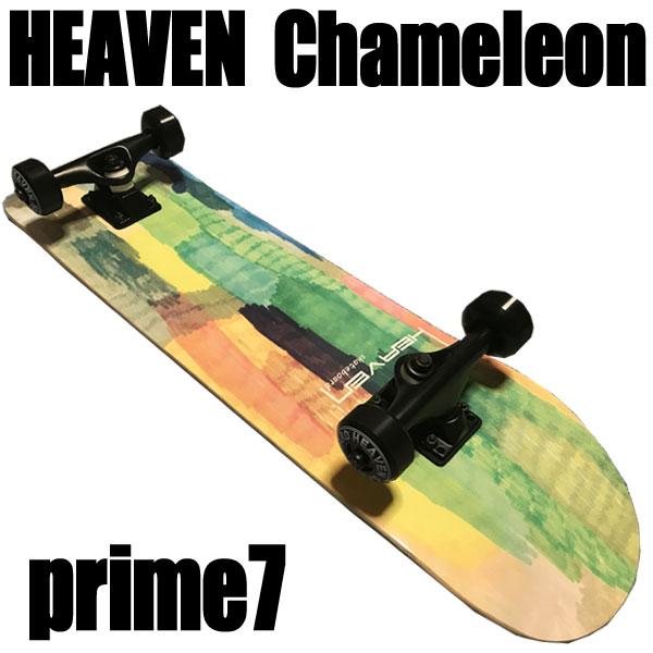 ヘブン ハイスペック コンプリート スケートボード カメレオン7 31×7.625 選び抜かれた高品質のスケボー