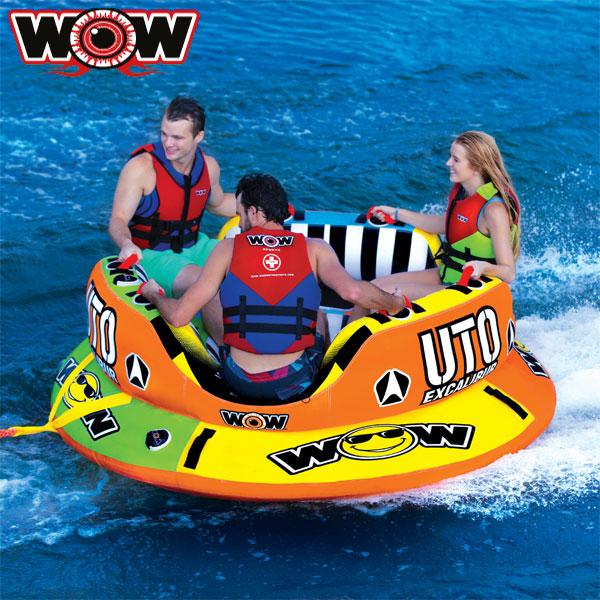 WOW(ワオ) UTO エクスカリバー 3人乗りトーイングチューブ