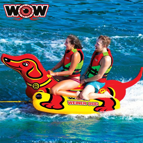 WOW(ワオ) ウインナードッグ 2人乗りトーイングチューブ