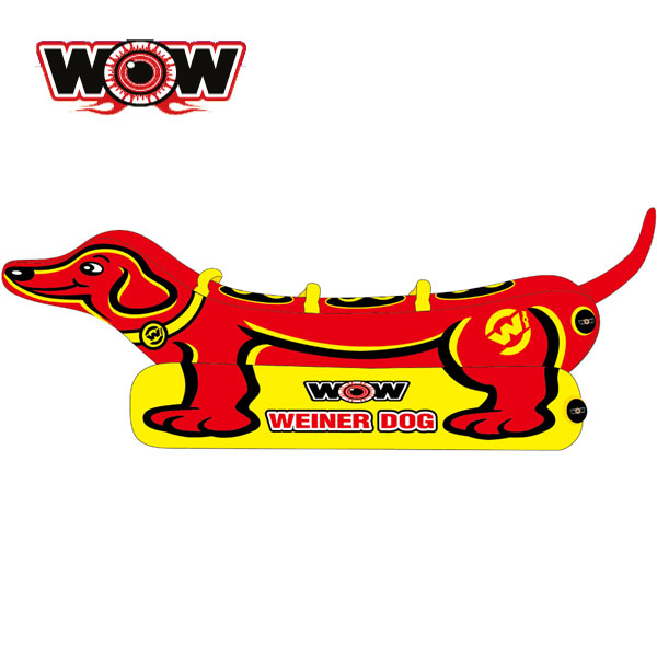 WOW(ワオ) ウインナードッグ 3人乗りトーイングチューブ
