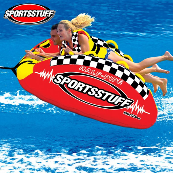 SPORTSSTUFF(スポーツスタッフ) ハーフパイプランページ 2人乗りトーイングチューブ