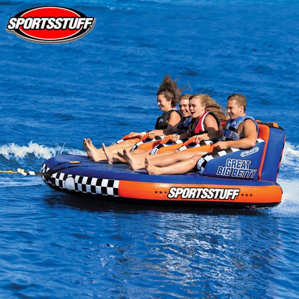 SPORTSSTUFF(スポーツスタッフ) グレートビッグベティ GREAT BIG BETTY 4人乗りトーイングチューブ