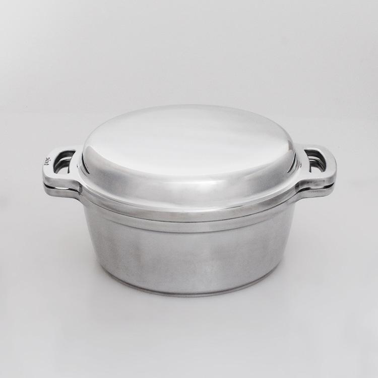 無水鍋 20cm HAL ムスイ KING ガス火・IH対応