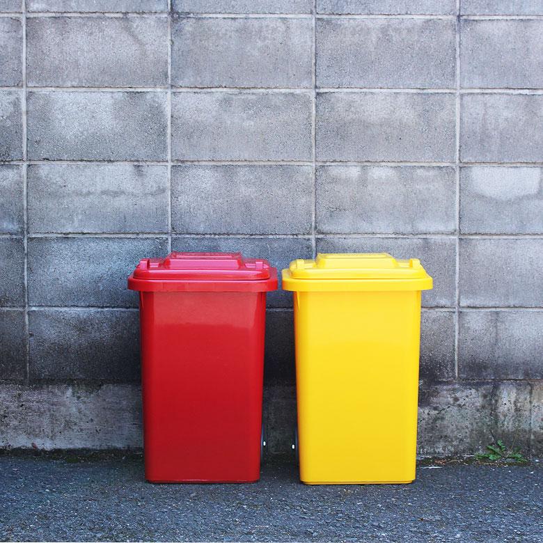 おしゃれな大型ゴミ箱 ダルトン プラスチックトラッシュカン 45リットル 100-146