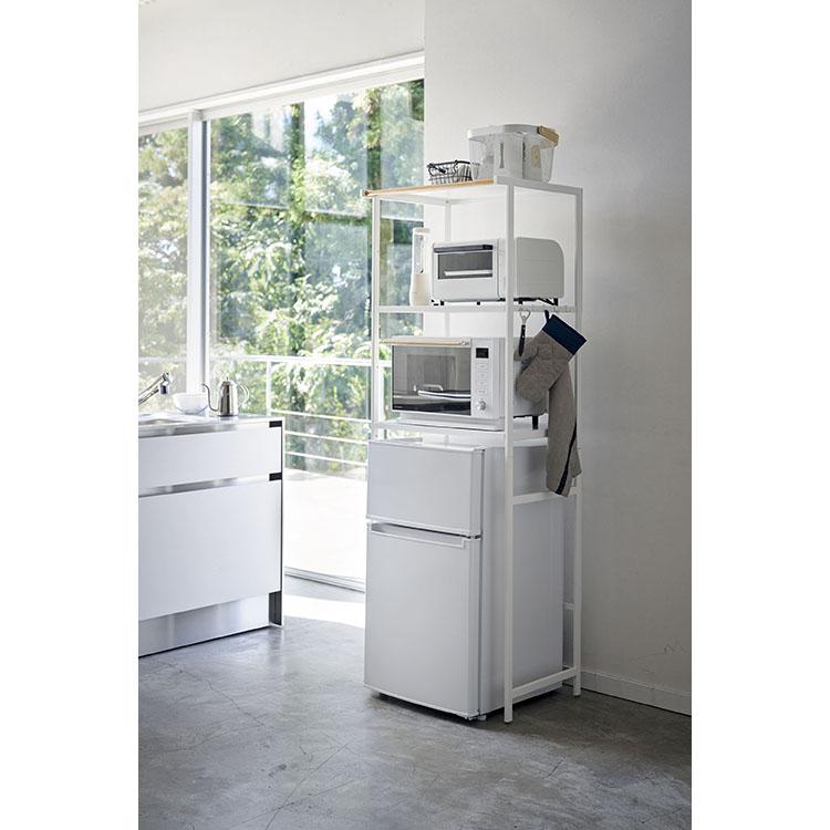 冷蔵庫上ラック タワー ホワイト WH 3595