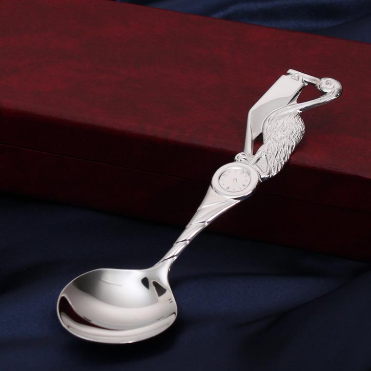 【名入れ無料】大蔵省造幣局品位検定刻印入り バースデースプーン 純銀
