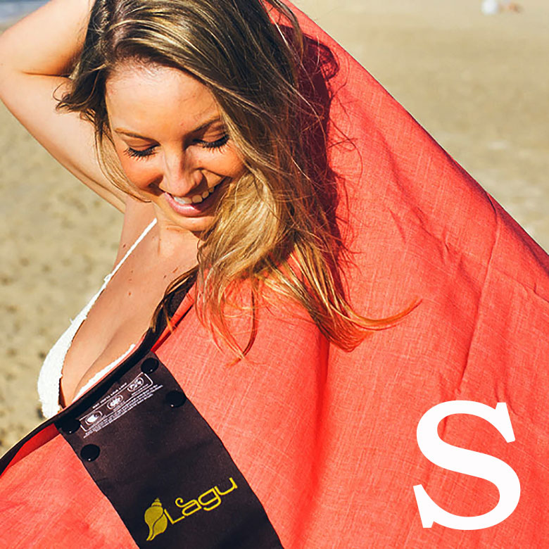 サラサラで乾きやすいからとっても便利 砂がつかないビーチブランケット レジャーシート Lagu Blanket 販売期間 限定のお得なタイムセール メール便は送料無料 Sサイズ ※ラッピング ※