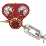 [ガス調整器]ヤマト産業(株) ヤマト アセチレン用圧力調整器 SSボーイアセチレン用 SSBOYAC 1個【434-5045】