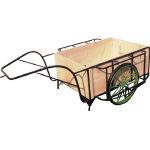 [リヤカー](株)ムラマツ車輌 ムラマツ リヤカー木箱付き MR-4K 1台【466-0668】【代引不可商品】【別途運賃必要なためご連絡いたします。】