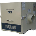 [集じん機]淀川電機製作所 淀川電機 カートリッジフィルター集塵機(0.3kW) DET300A 1台【467-4405】【代引不可商品】【別途運賃必要なためご連絡いたします。】【受注生産品】