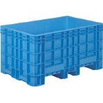 [ボックス型コンテナ]三甲(株) サンコー 超大型コンテナー ジャンボックス#500(本体) ブルー SK-500-BL 1個【459-3855】【代引不可商品】【別途運賃必要なためご連絡いたします。】