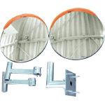 [屋内外両用安全ミラー]積水樹脂(株) 積水 ジスミラー「壁取付型」 KSUS800W-YO 1S【460-6264】【代引不可商品】【別途運賃必要なためご連絡いたします。】