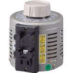 [変圧器]山菱電機(株) 山菱 ボルトスライダー据置型 V-130-3 1台【466-1150】【代引不可商品】【別途運賃必要なためご連絡いたします。】