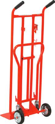 [二輪運搬車(スチール製)]トラスコ中山(株) TRUSCO スチールパイプ製多用途二輪運搬車 3形状使用可 THM-200T 1台【464-4816】【代引不可商品・メーカー直送】【別途運賃必要なためご連絡いたします。】