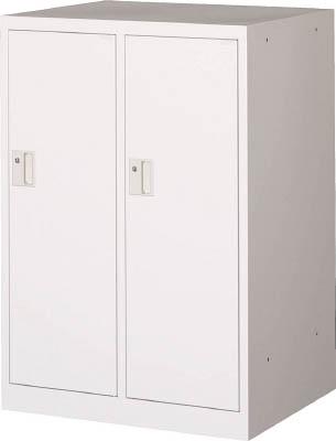 [ロッカー]トラスコ中山(株) TRUSCO ミニロッカー 2連用 ホワイト MLK2-W 1台【454-0824】【代引不可商品・メーカー直送】【別途運賃必要なためご連絡いたします。】