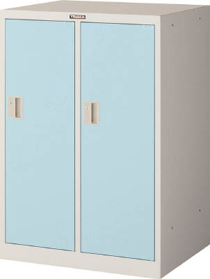 [ロッカー]トラスコ中山(株) TRUSCO ミニロッカー 2連用 ブルー MLK2-B 1台【454-0808】【代引不可商品・メーカー直送】【別途運賃必要なためご連絡いたします。】