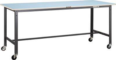 [キャスター付軽量作業台(BE型125kgタイプ)]【送料無料】TRUSCO BE型軽量作業台 900X750 車輪付 BE-0975C75 1台【代引不可商品・メーカー直送】【北海道・沖縄送料別途】【smtb-KD】【法人様方のみのお取扱いとなります】